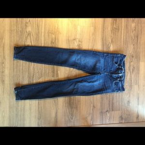 AE BLUE JEGGINGS - BARELY WORN